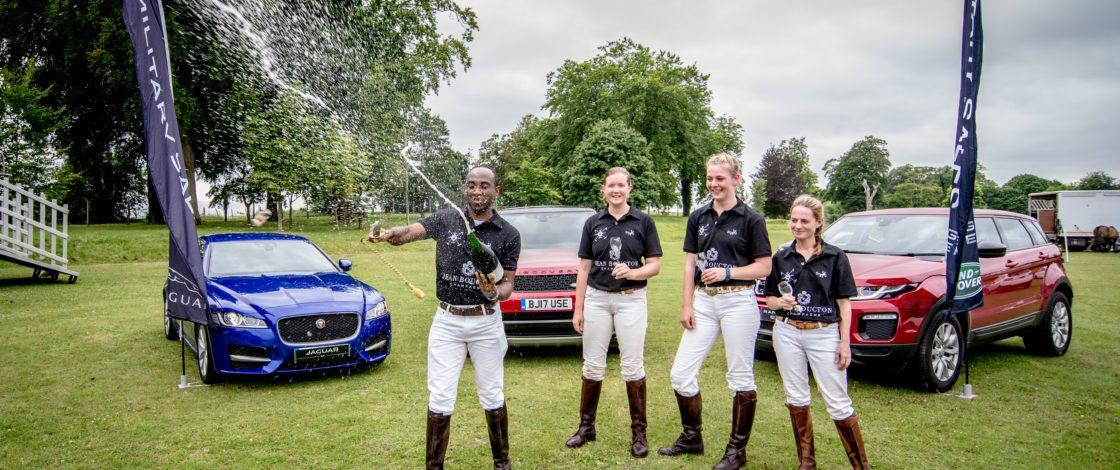 Jean Boucton teams up with Jaguar Land Rover for the Polo season