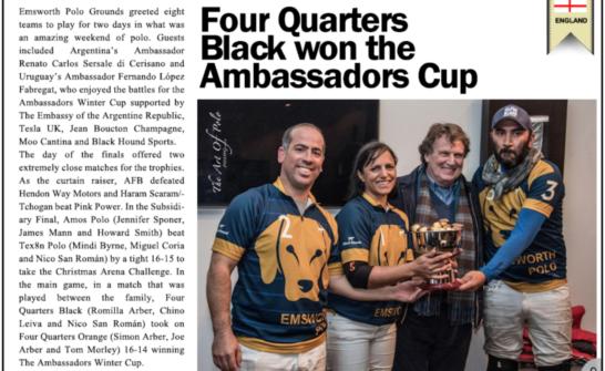 Argentina's Ambassador Cup